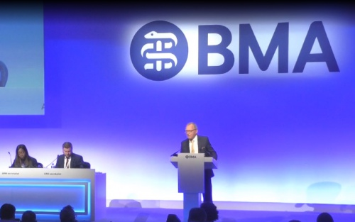 BMA ARM vote heralds members' poll