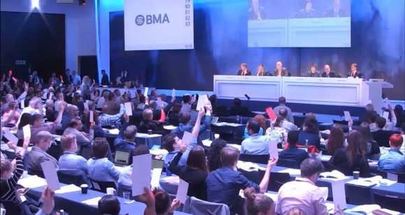 BMA members reject neutrality