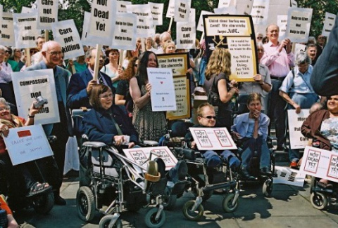 Disabled leaders speak out