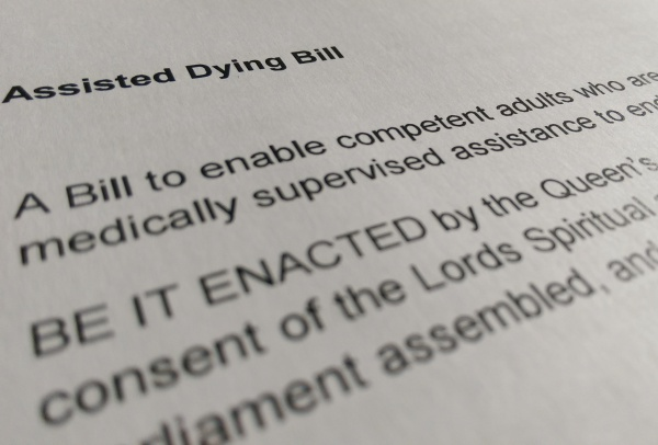 Assisted Dying Bill published